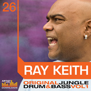 Ray Keith Loopmasters Drum n Bass Sample CD