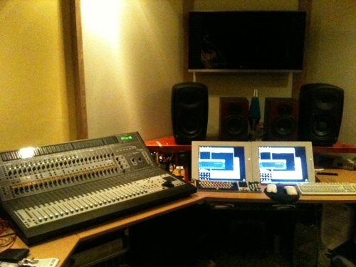 Reator Studios Digidesign Desk and Dauntless Event Opals