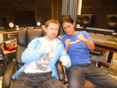 My good friend Rido (Pavel) pop into the Dauntless Studio to say hello